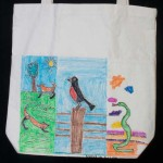 Earth Day Crafts (Part 1): Canvas Bags