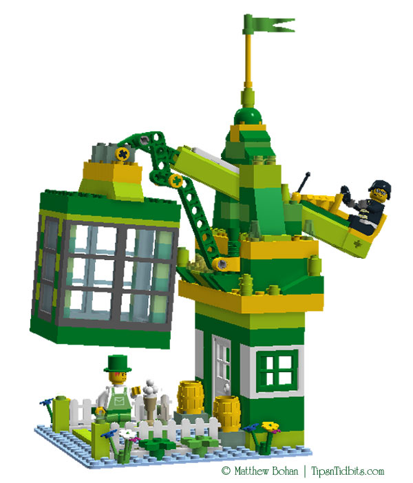 Build Your Own Lego Leprechaun Trap Tips N Tidbits