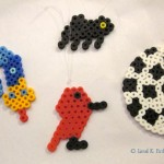 Easy Perler Bead Christmas Ornaments